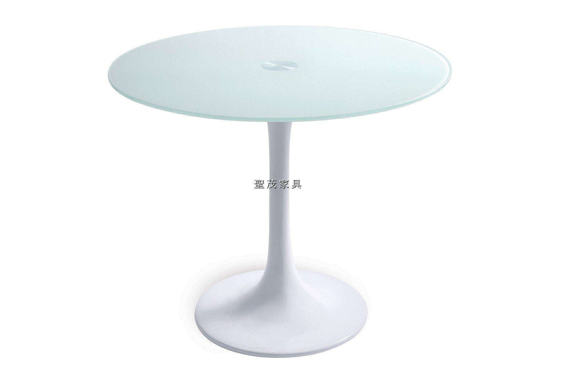 聖茂家具 高特鋼製家具 休閒桌 公共區域 工業風 美式洽談桌 Resolute A-936 造型桌 餐桌 圓桌 玻璃桌