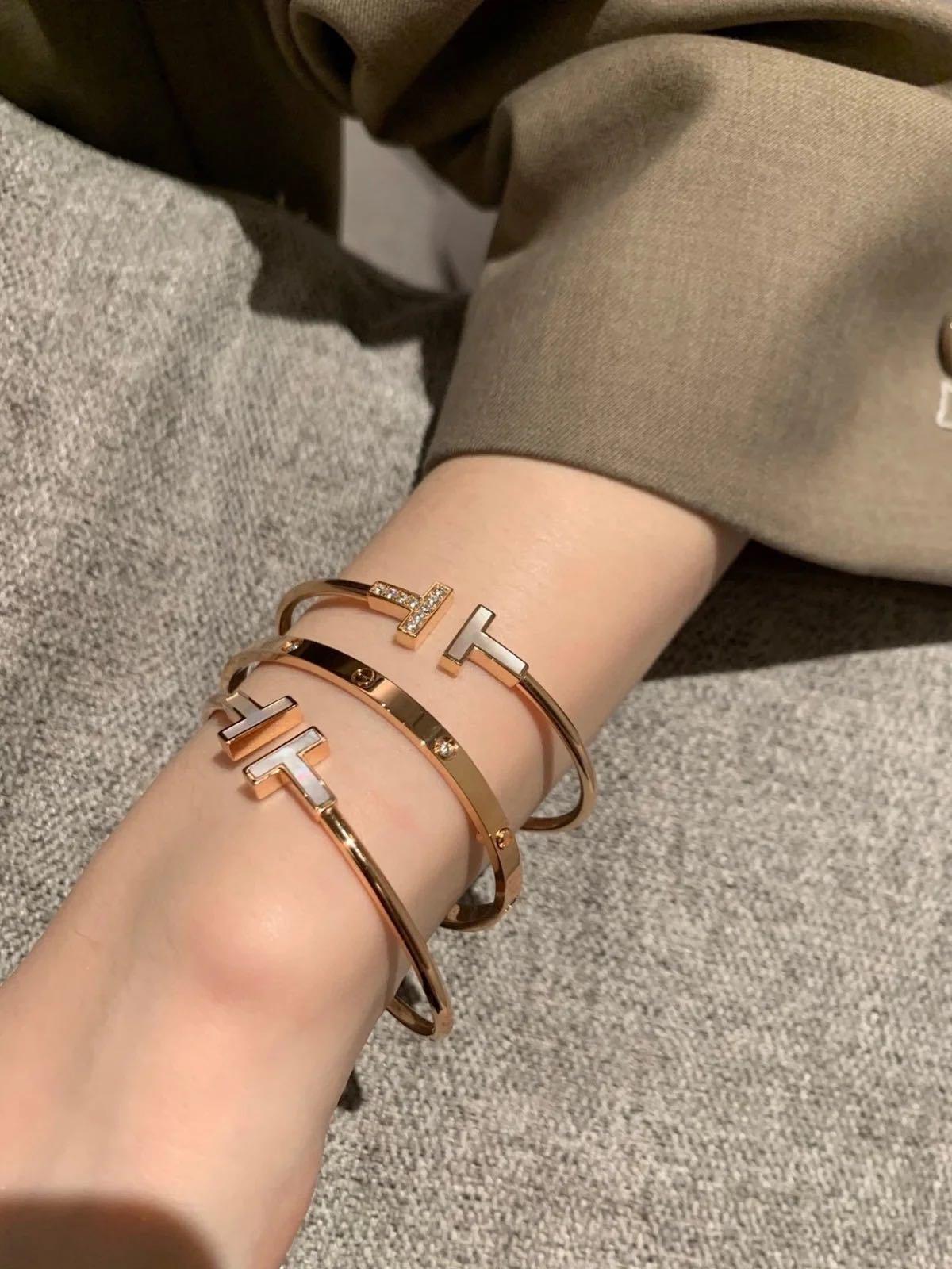 Tiffany&co T 手環 手鐲
