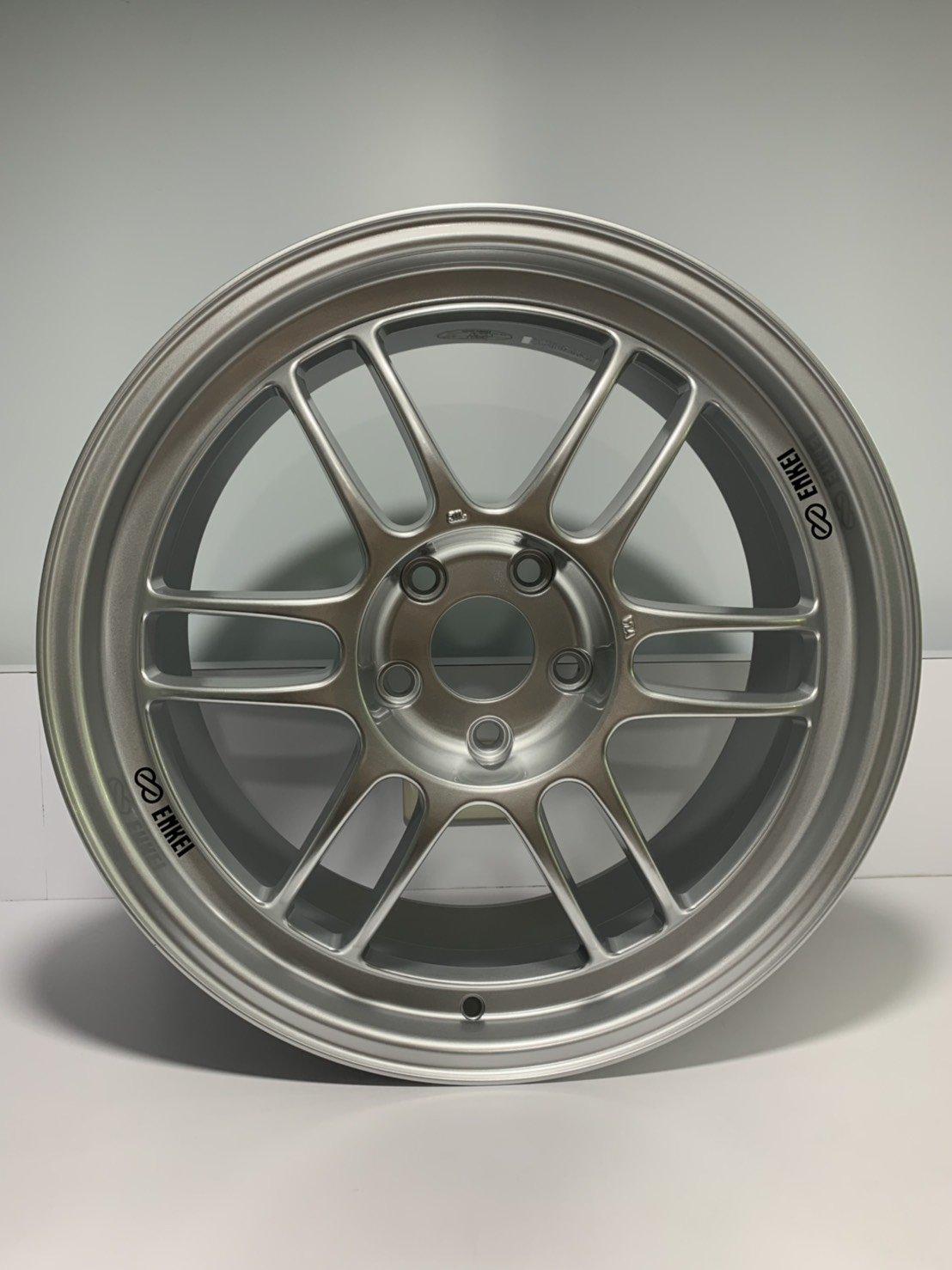 CR輪業 全新 日本製 ENKEI RPF1 18吋 旋壓輕量化鋁圈 高亮銀 5X114 8.5J ET40