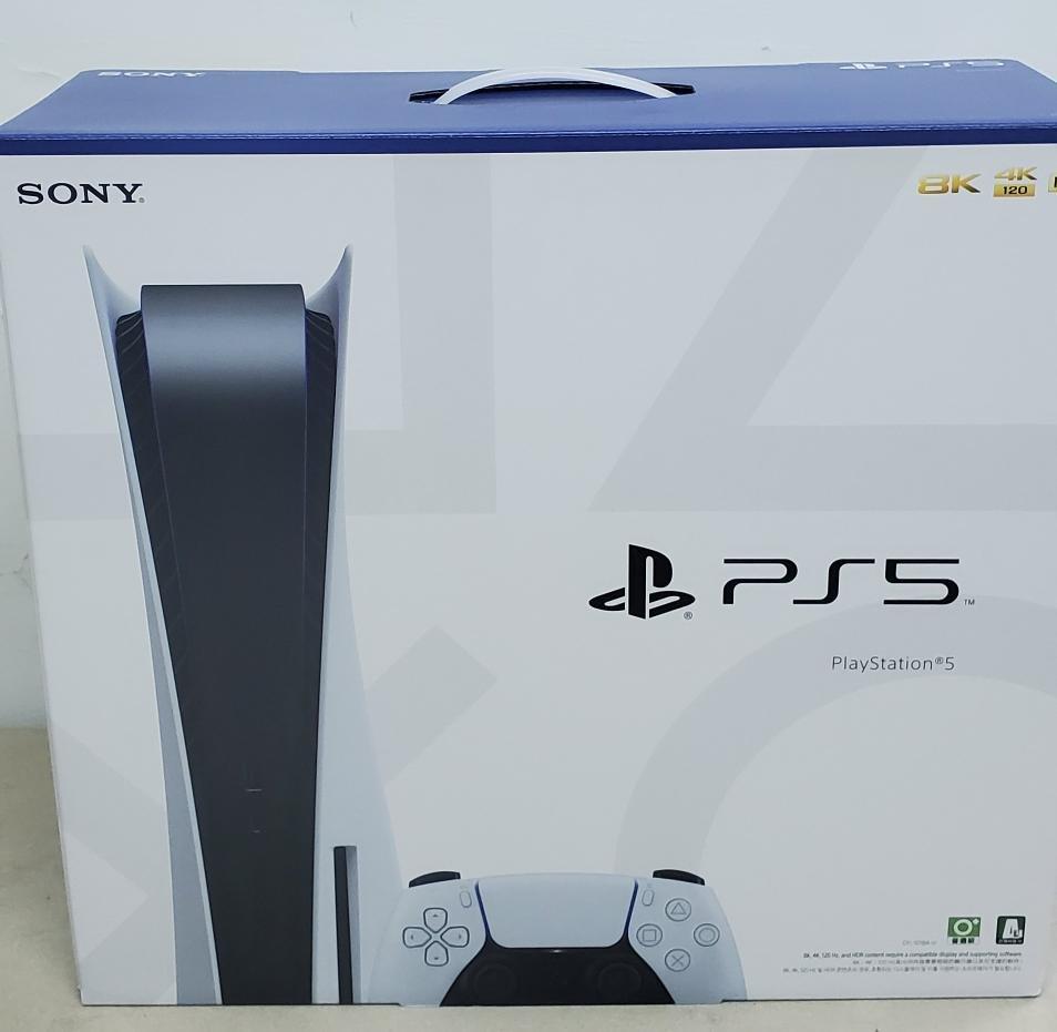 現貨 Sony PS5 Playstation 5 光碟版 825G Hdmi2.1 120Hz 單機 空機 主機 X90J Q70T C9 白色 單一尺寸