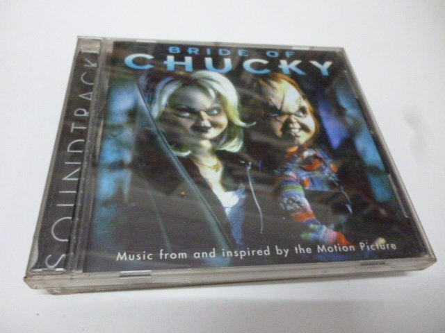 崇倫《BRIDE OF CHUCKY鬼娃新娘    原版二手CD   / 內容物請看照片》  此無500免運/崇倫《BR