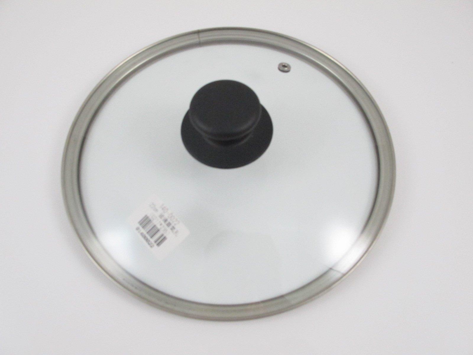【御風小舖】 製 22cm氣孔強化玻璃鍋蓋  不銹鋼氣孔玻璃鍋蓋 玻璃蓋