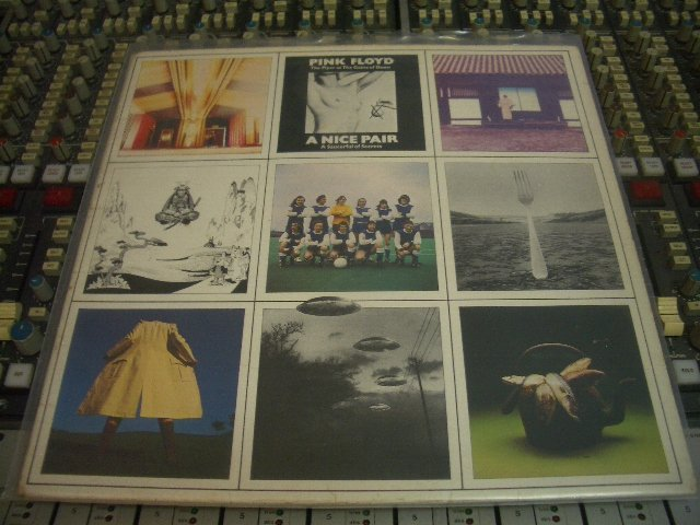 PINK FLOYD / A NICE PAIR 英版 黑膠唱片 2LP(LED ZEPPELIN.QUEEN.U2.)