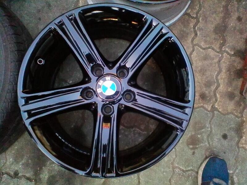 原廠鋁圈 17吋 BMW 5孔120 5/120 F30 E90 E91 E36 E46 318 320 325