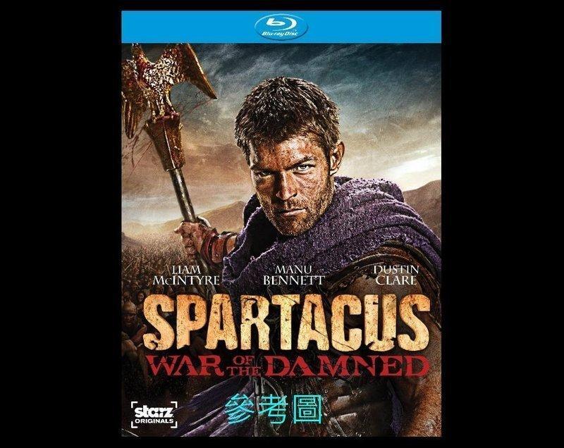 【BD藍光】斯巴達克斯 第三季:詛咒者之戰Spartacus: War of the Damned(英文字幕)