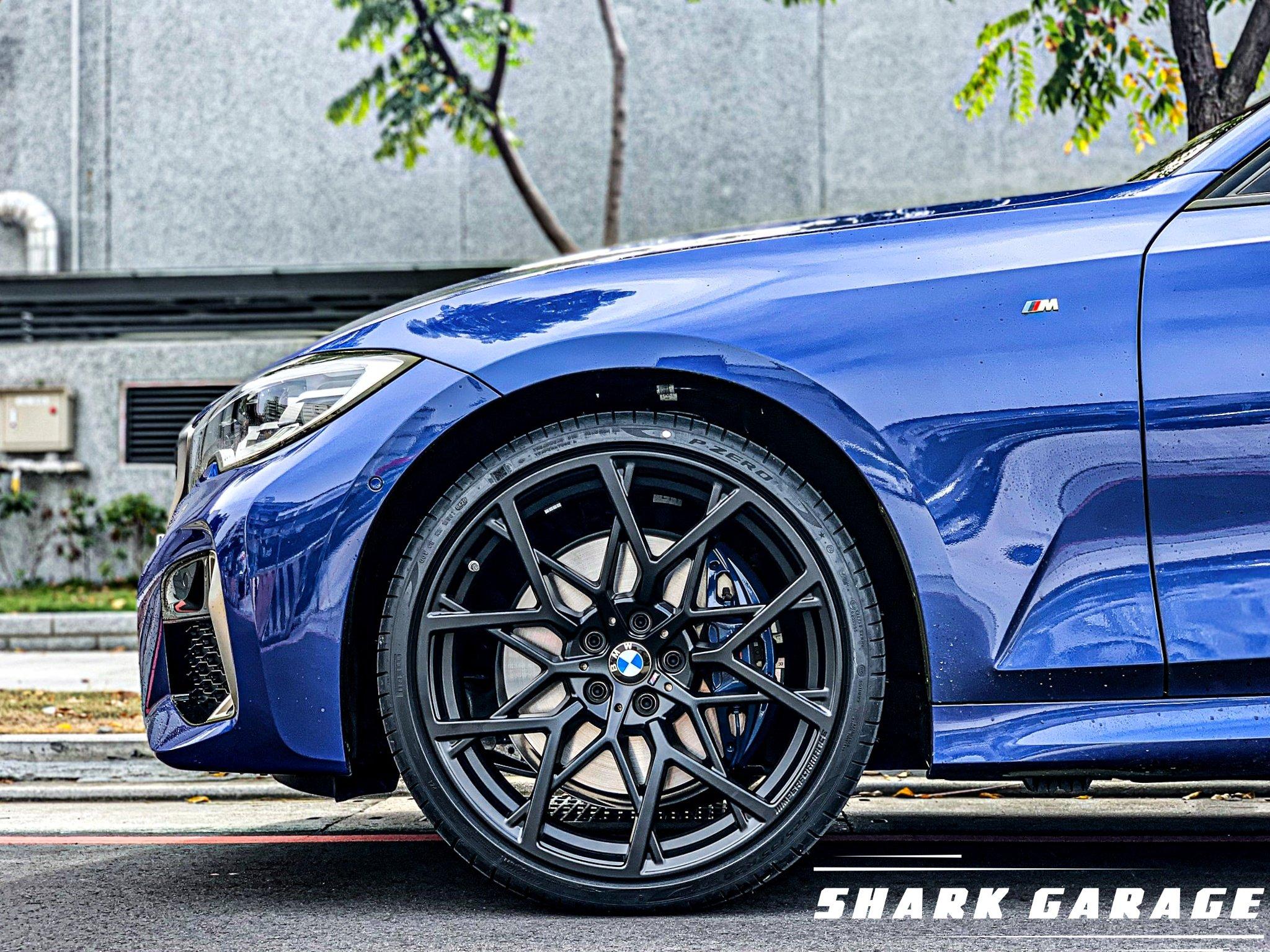 ✽顯閣商行✽BMW德國原廠 M Performance G20/G21 795M 20吋 鍛造輕量化鋁圈含胎組 M340