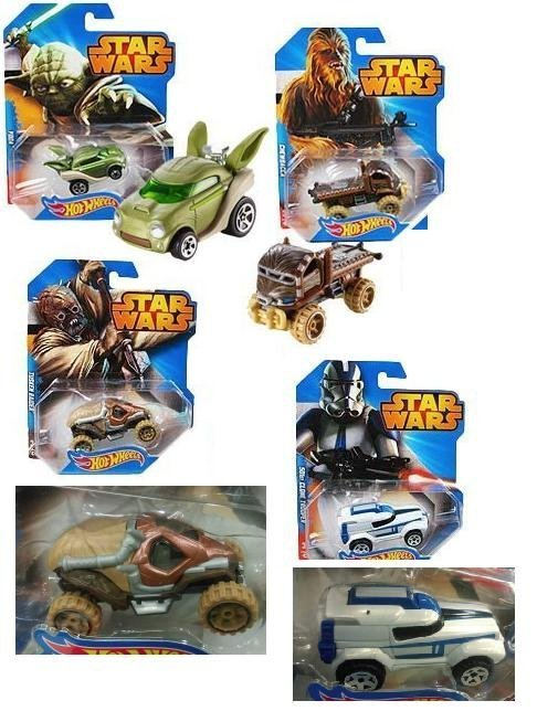 風火輪 STAR WARS 星際大戰 黑武士 R2-D2 尤達 路克 沙漠白兵