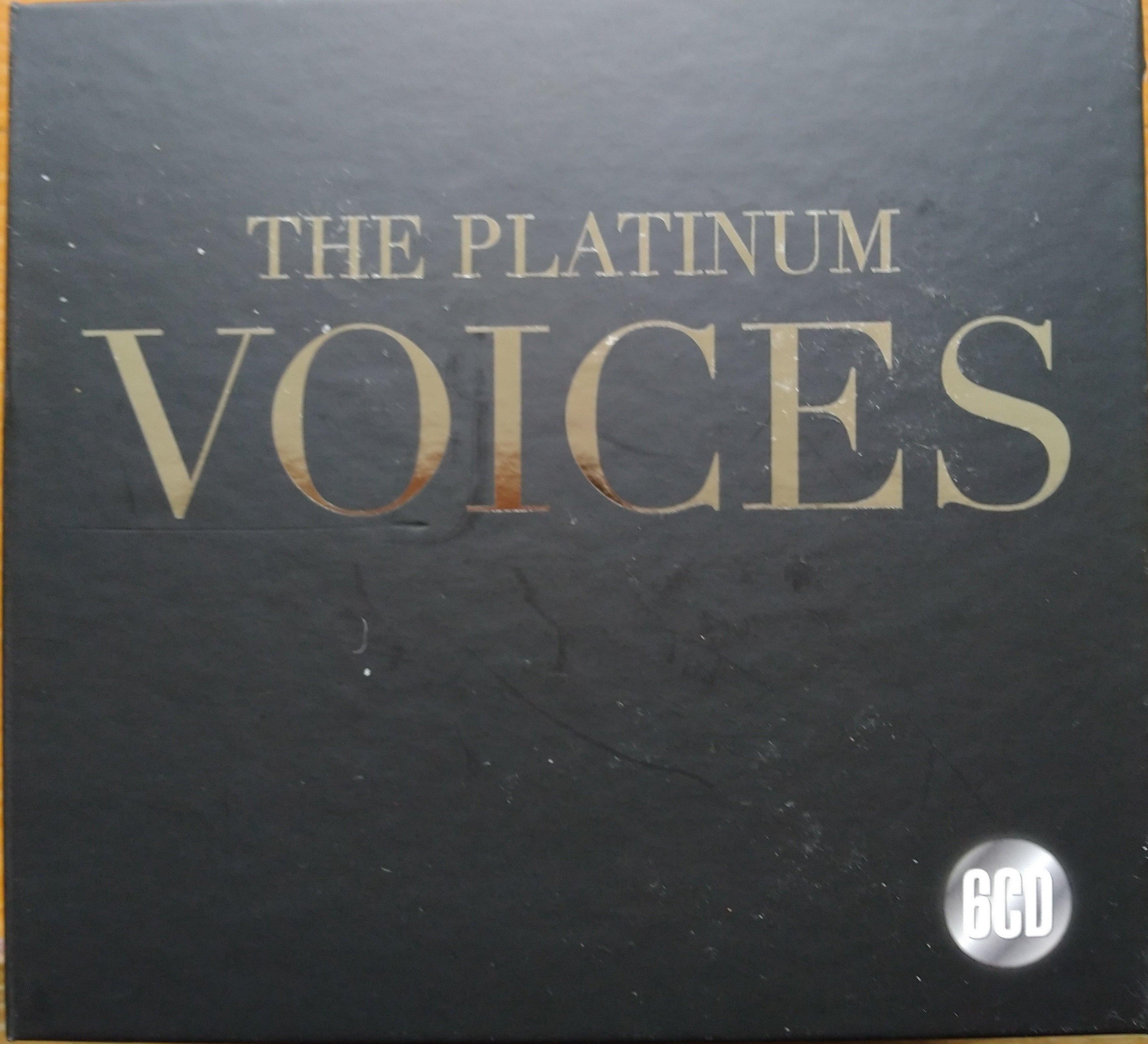 白金美聲 The Platinum Voices (6CD 90首)