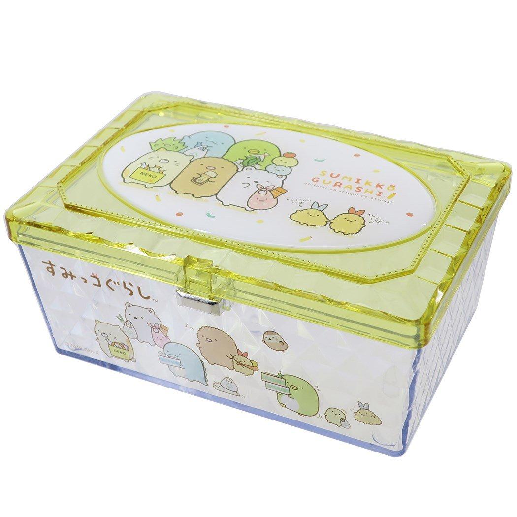 X射線【C481865】角落生物 Sumikko Gurashi 透明小物收納盒,置物櫃 收納櫃 收納盒 抽屜收納盒 收