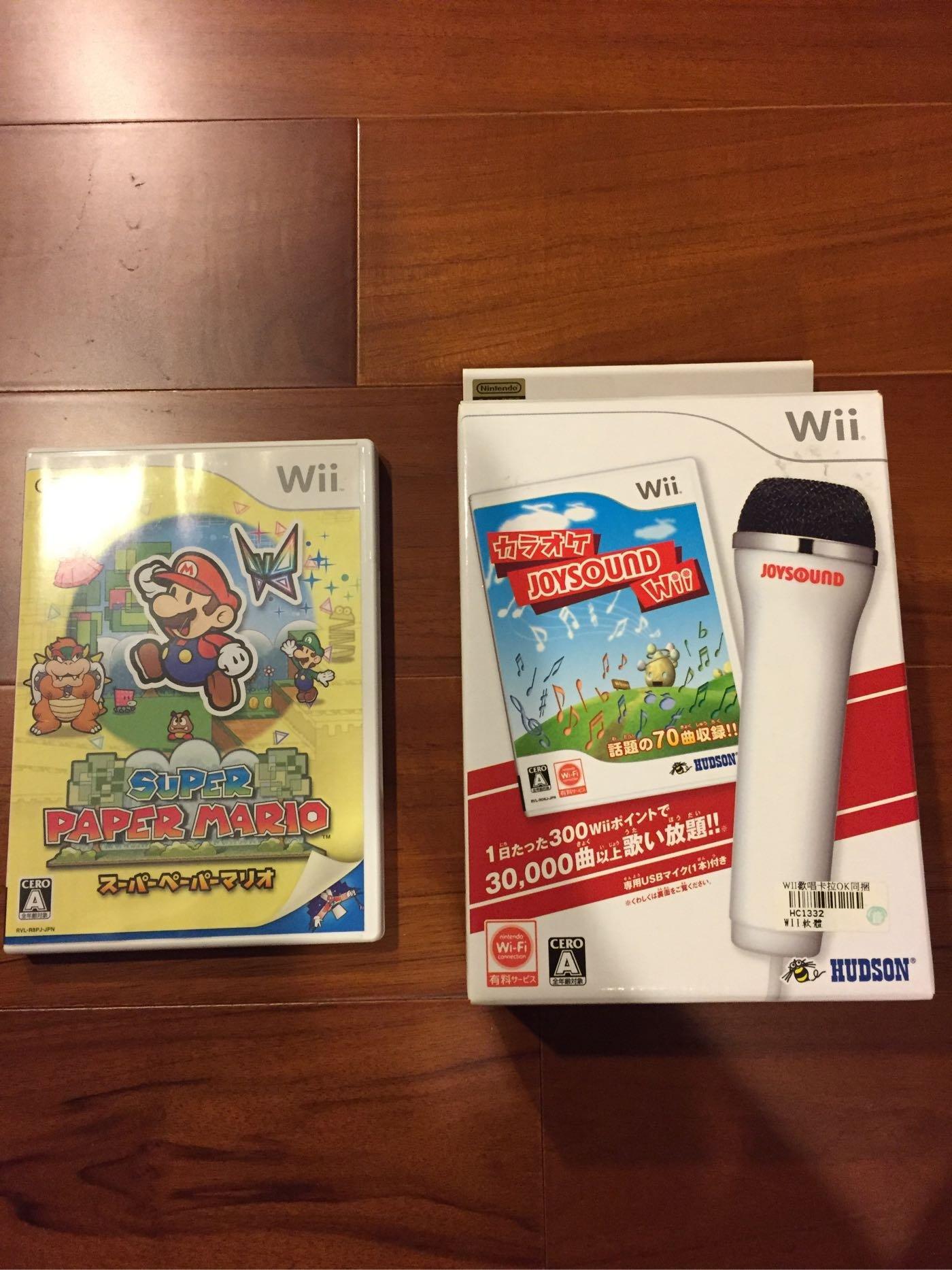 Nintendo 任天堂 Wii WiiU 日版 紙片 瑪莉歐 Paper Maria 遊戲 光碟