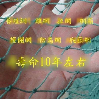【養殖網-6股1cm-6平方米/組】聚乙烯有結網 尼龍網 防護網(達最低標後可零購、量大可海運)-76029