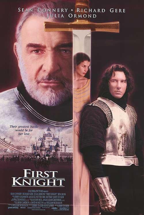第一武士(First Knight) - 李察吉爾、史恩康納萊 - 美國原版電影海報(1995年)