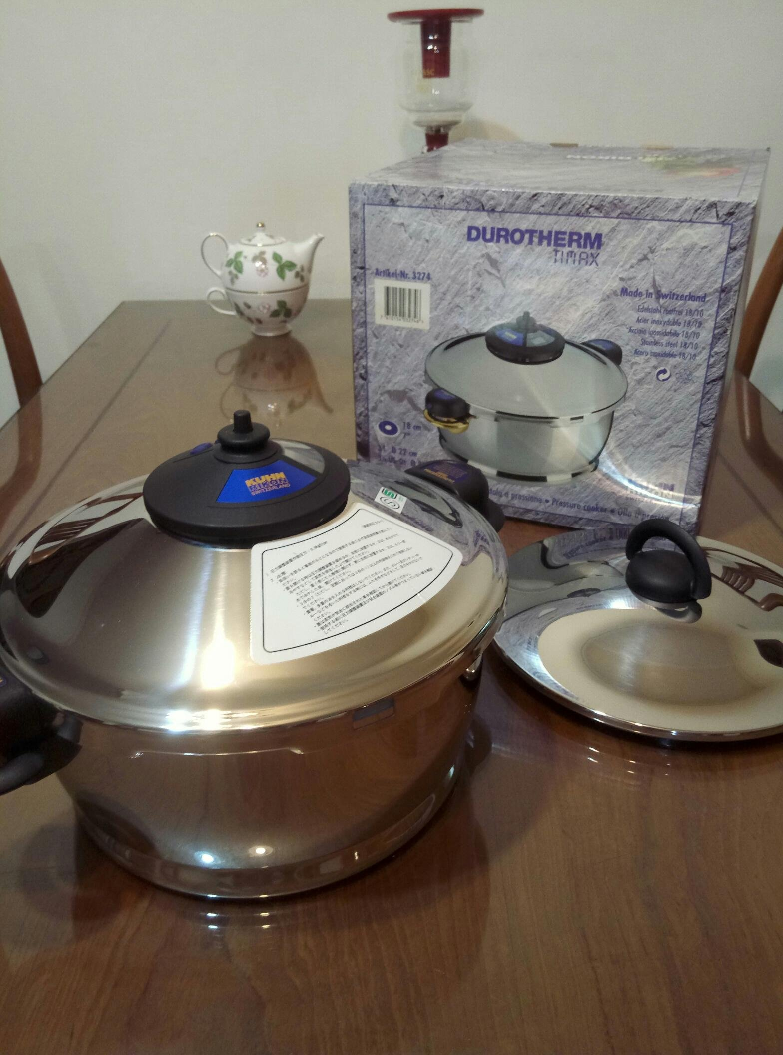 瑞士Kuhn Rikon durotherm pressure cooker 雙壁鍋/壓力鍋 3L雙享鍋