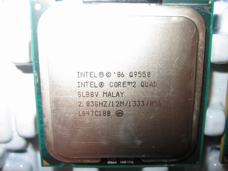 Intel Core 2 Quad Q9550 SLB8V E0 正式版 2.8G/12MB/1333Mhz(Q9650