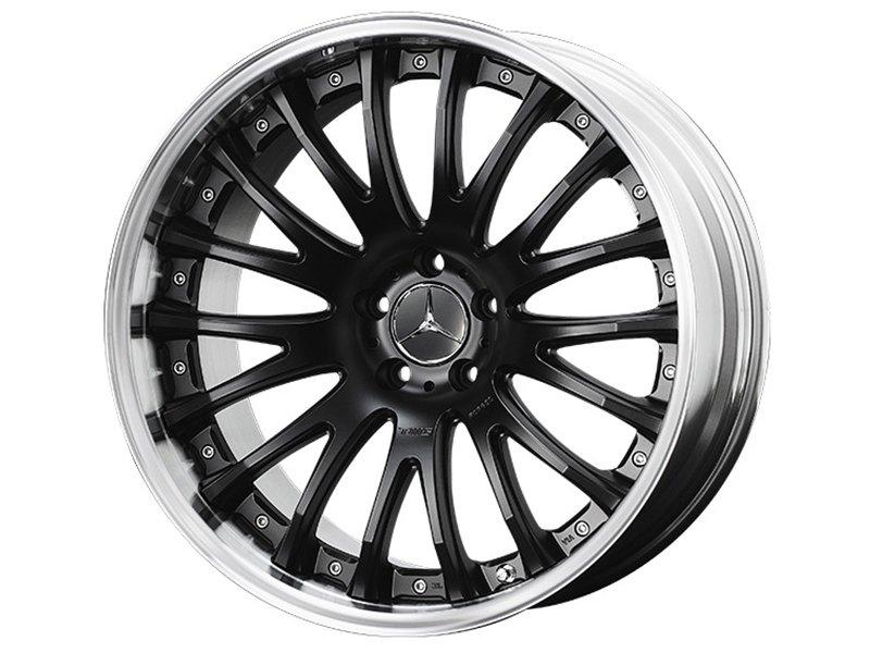 【樂駒】TWS EX-fM Mercedes Benz 鋁合金 19吋 20吋 輕量化 輪框 改裝 兩片式