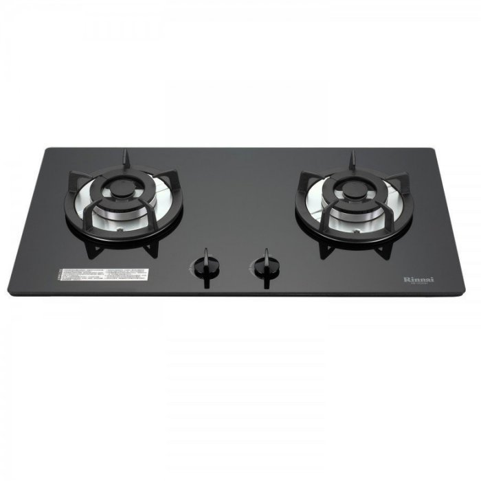瓦斯爐專科~水電DIY*林內 貨*RB-202GH(B)雙口黑色強化玻璃防漏檯面爐 RB202GH(W) RB202G