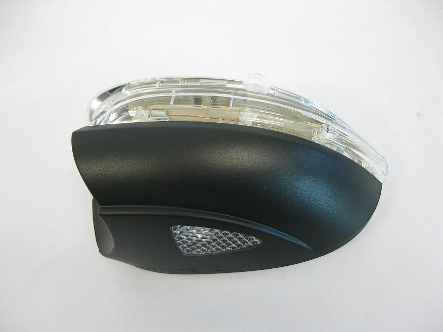 Golf 6 後視鏡LED照地燈座含方向燈總成-Tiguan golf5 passat b6 sharan touran
