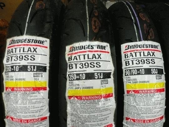 【崇明輪胎館】BRIDGESTONE 普利斯通 BT39 10吋 機車輪胎 熱融胎 3.50-10 1550元