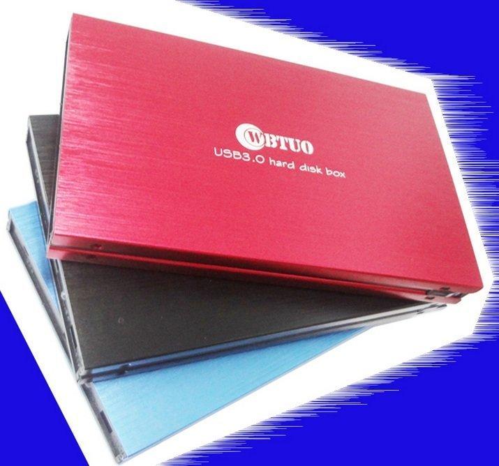 全新盒裝 AKE USB 3.0 外接 2.5 吋硬碟 外接盒 硬碟盒 支援3TB SATA硬碟 三色 全鋁合金 大廠晶片