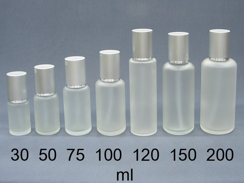 DP社【B68】MIT霧銀蓋毛玻璃噴瓶噴罐噴霧瓶玻璃水瓶瓶罐罐玻璃瓶化妝水瓶子小噴瓶 30ml~200ml