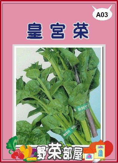 【野菜部屋~蔬菜種子】A03 皇宮菜種子4.8公克(約120粒) , 很好種植的蔬菜 , 每包12元~