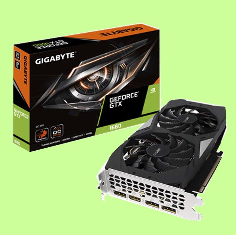 5Cgo【聯強】技嘉 NVIDIA GeForce GTX 1660 OC GDDR5  顯示卡  3年保 含稅