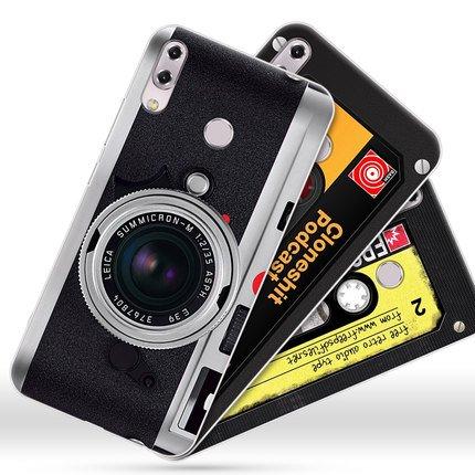 華碩 Zenfone5 2018版 ZE620KL 手機殼 復古照相機 高 磨砂 可愛卡通
