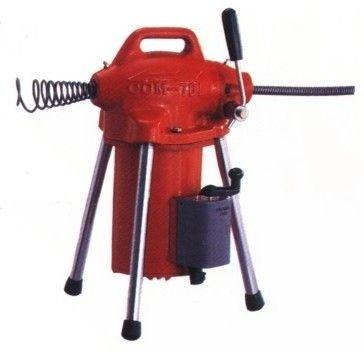 ╭☆優質五金☆╮川方牌CCM-761電動通管機主機。可用於居家水管廚房阻塞 可到付