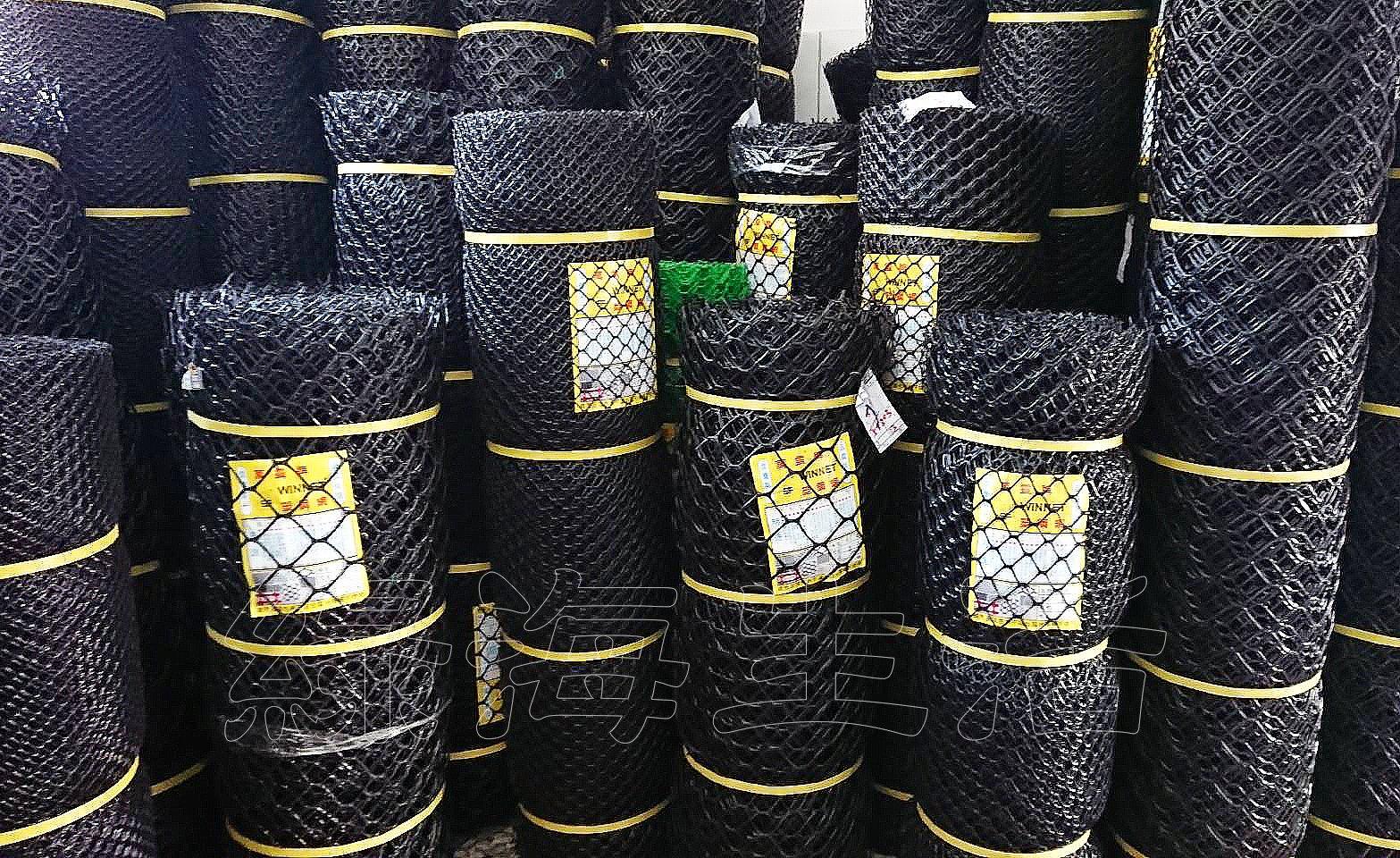 【綠海生活】塑鋼網 (B級/黑色) 3尺 長度:100尺 萬年網 黑網 塑膠網 萬用網 圍籬網 籬笆網 網子
