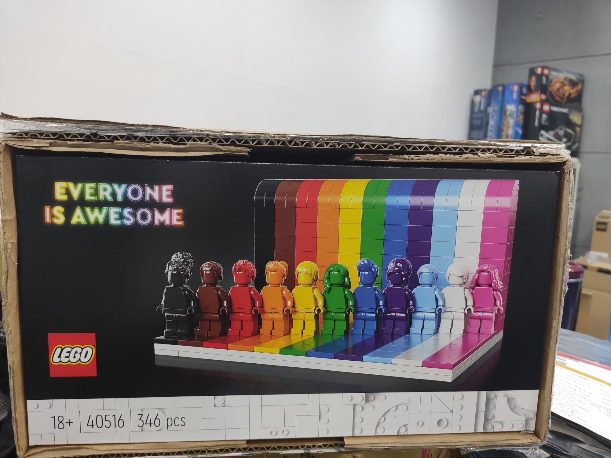 [公司貨 現貨] LEGO 40516 每一個人都很讚 Everyone Is Awesome 全新未拆