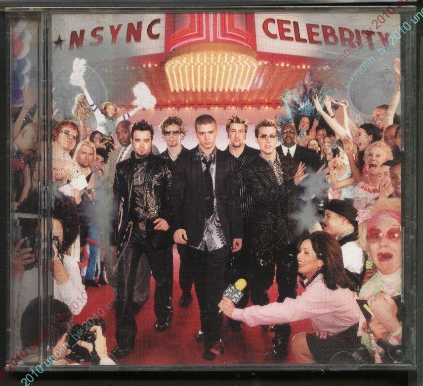 CD滿3張免運~超級男孩 NSYNC【威震八方 CELEBRITY】賈斯汀  初回特典~比美版專輯多2首免競標