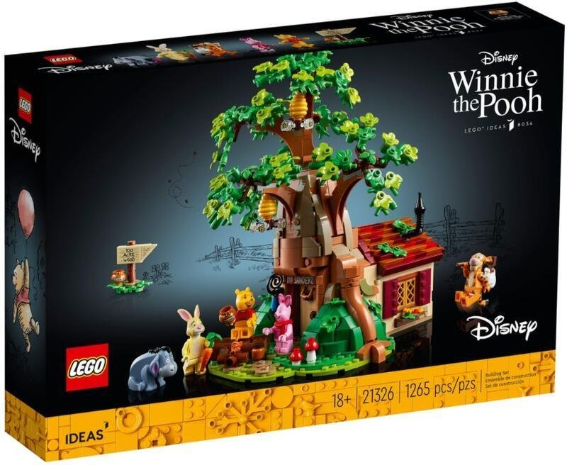 LEGO 樂高 21326 【樂高熊】 IDEAS系列 小熊維尼 全新未拆 保證正版台樂公司貨