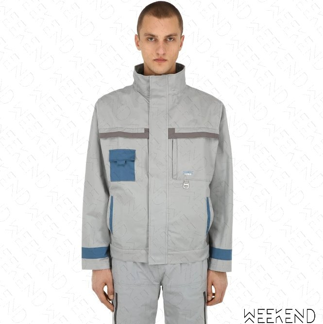 【WEEKEND】 C2H4 Workwear Chemist 化學製品 外套 夾克 灰色