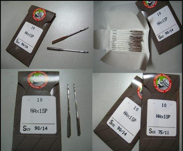 SED鴿子窩:HAx1SP車針~ 於桌上型縫衣機車縫彈性布料(防跳針) 信義町針車
