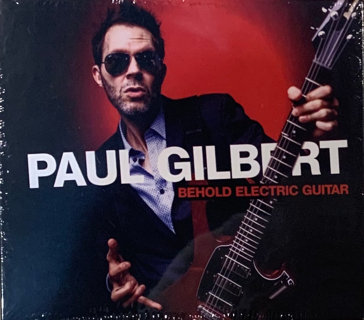 【搖滾帝國】美國著名吉他手PAUL GILBERT 2019全新發行專輯 Behold Electric Guitar