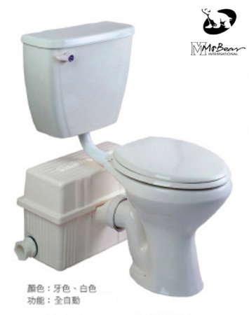 【 阿原水電倉庫 】名品衛浴 P-2381B 電動碎化馬桶 分離式碎化馬桶 全自動化糞馬桶 電動馬桶 免用化糞池