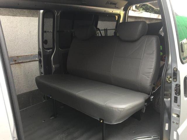 (柚子車舖) 三菱 得利卡 箱車(貨車版) 專用第二排座椅 (快拆式) -可到府安裝 a
