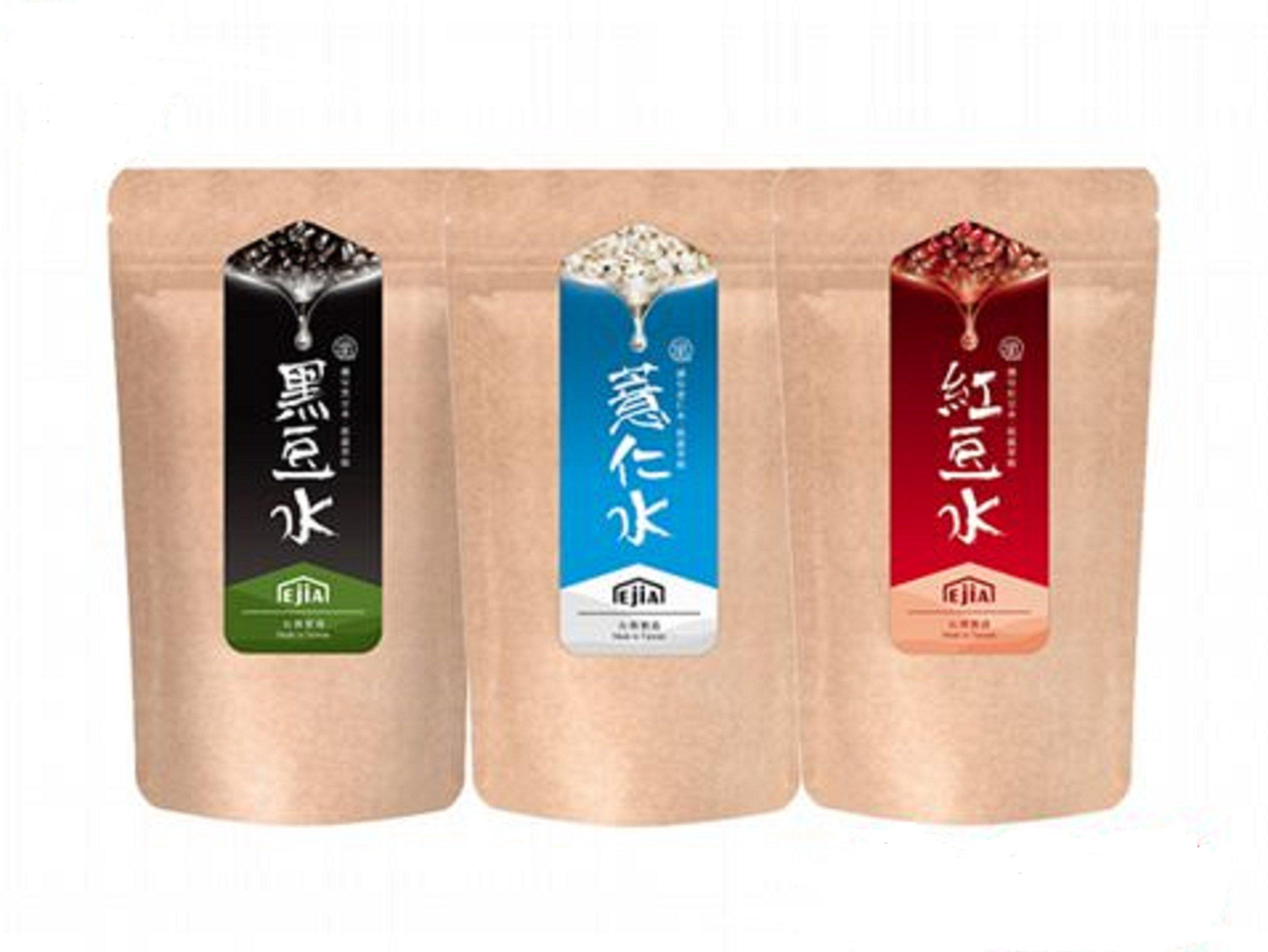 易珈生技 纖Q好手藝系列 紅豆水/黑豆水/薏仁水 袋裝(2g/包;  30包/袋) 任選 可超取 自取 離島