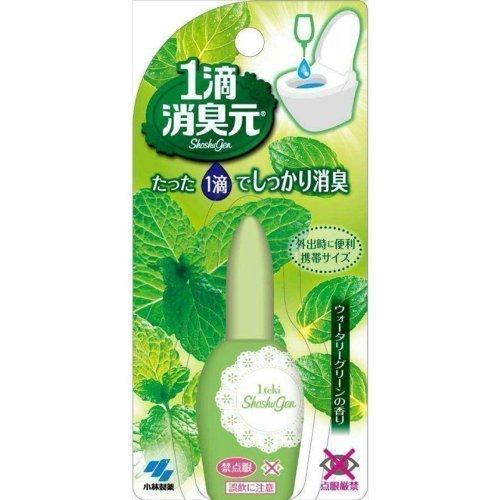 ~ 小林製藥 外出時便利攜帶 1滴消臭元芳香劑 馬桶芳香消臭液 一滴芳香消臭液 除臭劑(20ml)-綠色