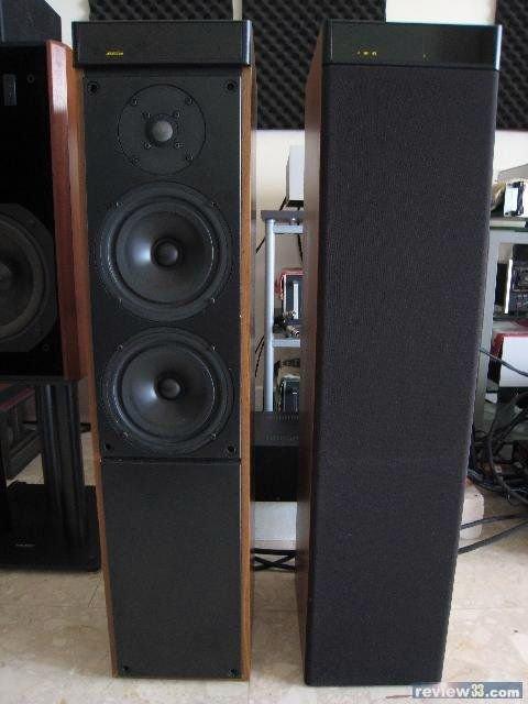 英國 Hi-End之聲主動式落地旗艦喇叭 Meridian M60 低音到35Hz 音路電子分音內建3路擴大機