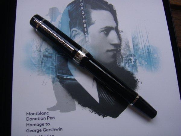 Montblanc 萬寶龍 音樂家系列 Donation 2019 George Gershwin 向喬治.蓋希文 致意