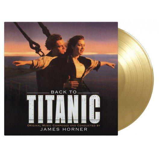Back to Titanic 詹姆斯‧霍納  重回鐵達尼號 電影原聲帶2LP金色彩膠唱片