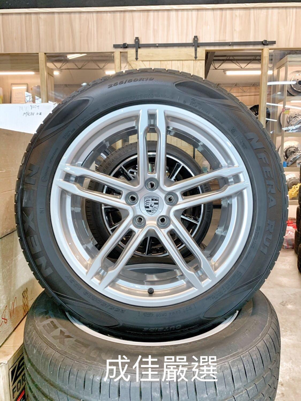 ?新車落地 ? #Porsche #Macan 原廠選配19吋前後配鋁圈含胎