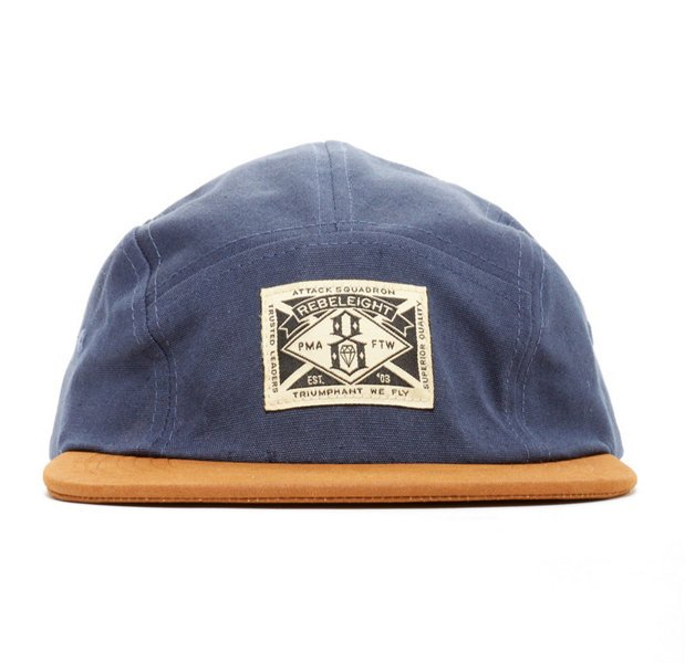 【REBEL8】TRIUMPHANT WE FLY 5 PANEL (藍色)五片帽