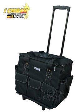 [宏樂工具] I CHIBAN 一番 JK1502 大容量拉桿袋 伸縮拉桿設計 大型拉桿工具袋 一級棒工具袋專家