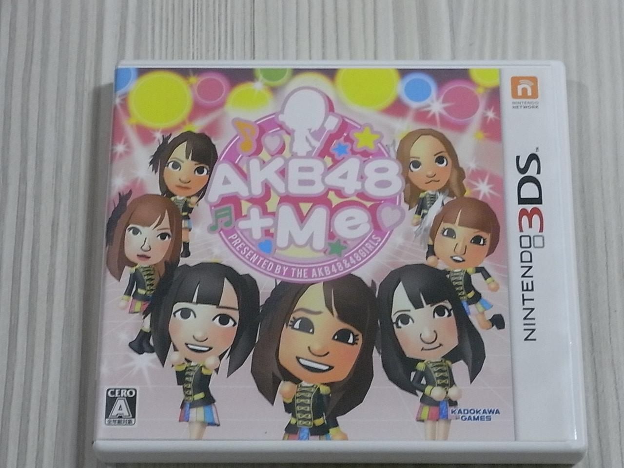 【小蕙館】<3DS> AKB 48 +Me (純日版)