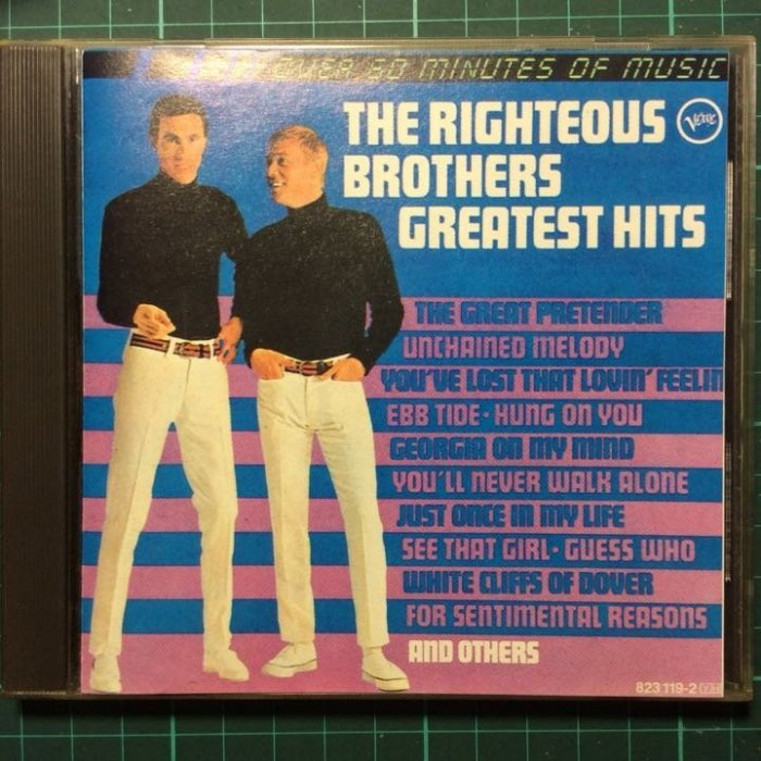 The Righteous Brothers-Greatest Hits 正義兄弟-精選輯 1967美國版無ifpi