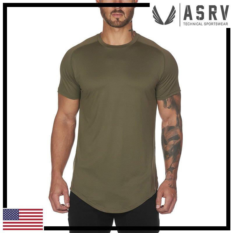 瘋狂金剛▸ 橄欖 ASRV Train-Lite™ Established Tee 超柔輕量吸濕排汗短袖T恤 運動 健身