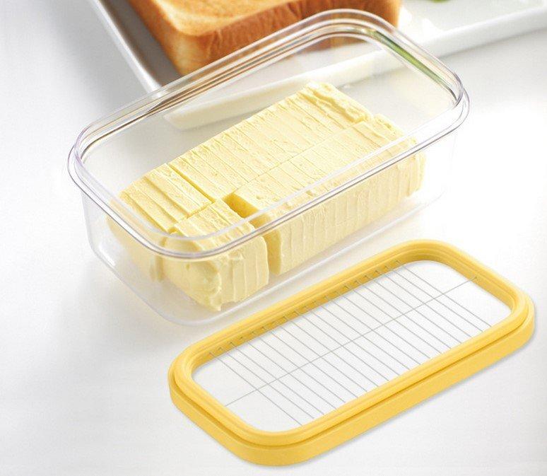 ☆╮布咕咕╭☆BUTTERR GENIE 乳酪牛奶切割器 保鮮盒 奶油切割保鮮盒