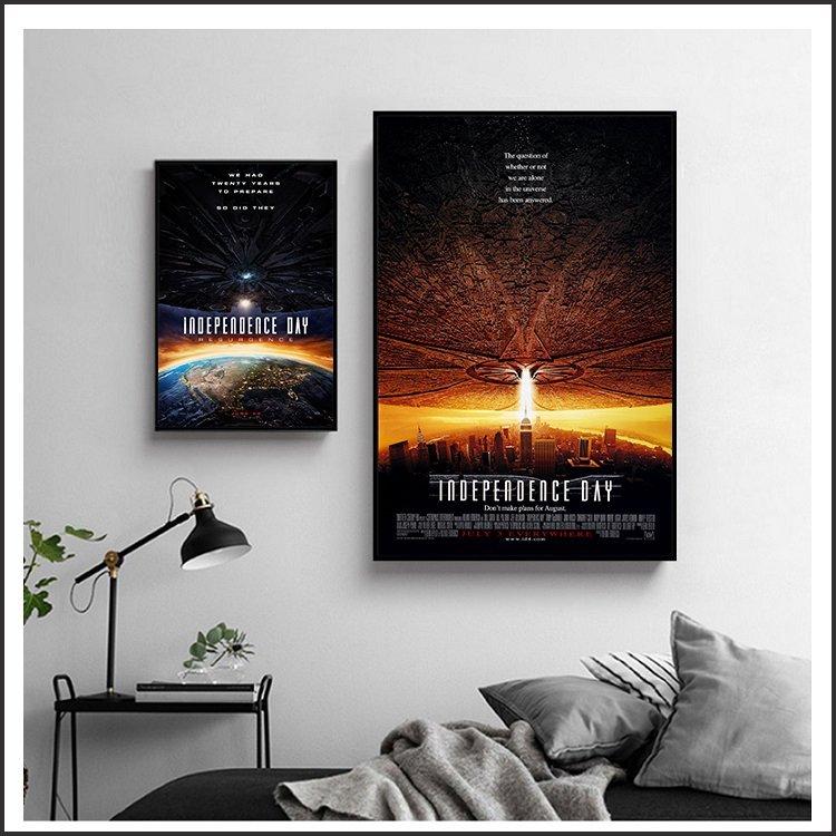製畫布 電影海報 ID4 星際終結者 掛畫 無框畫 @Movie PoP 賣場多款海報~